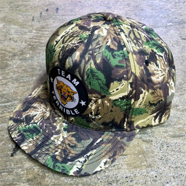 Team Terrible - TIGER LOGO CAMOUFLAGE CAP