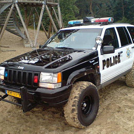 Jeep - Grand Cherokee POLICE CAR