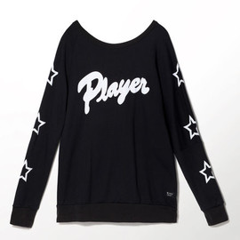 adidas originals - Player Crew, Black, zoom