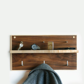 Wood Accessories Shelf