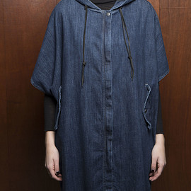 CURRENT ELLIOTT - Denim Poncho