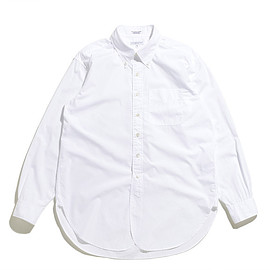 ENGINEERED GARMENTS - 19 Century BD Shirt-100's 2ply Broadcloth-White