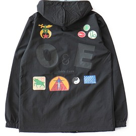 TOGA ODDS&ENDS - Print Windbreaker (black)
