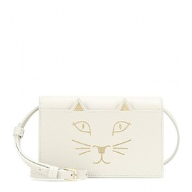 Charlotte Olympia - Feline Purse leather shoulder bag