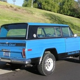 AMC - 1977 AMC Jeep Cherokee Chief 401 V8 4x4 For Sale Rear