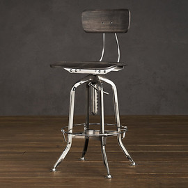 Restoration hardware - Vintage Toledo Chair Polished Chrome