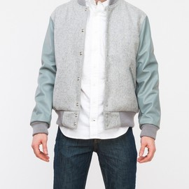 Odd Fellow Company for Draught Dry Goods - Leather/Wool Heather Grey