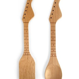 Kikkerland - Rockin Spoon and Spatula Set