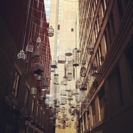 Sydney alley way installation(Taken with Instagram at Angel Place)