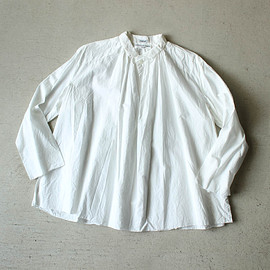 YAECA - Big Tuck Shirt #white