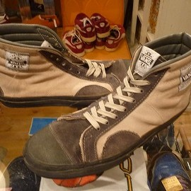 "vans - 「<used>80's vans NATIVE AMERICAN SUEDE beige/grey""made in USA"" size:US10?(28cm?) 18800yen」完売"