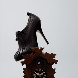 BALLY - Baarlo - embellished chocolate pump with fringes