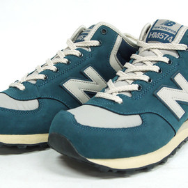 new balance  - HM574 PAST 「LEFTFOOT x streething」