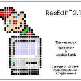 Apple - ResEdit