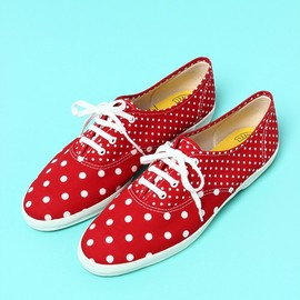 green label relaxing WOMENS - keds DOT/CHAMPION OXFORDスニーカー