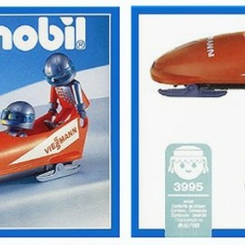 PLAYMOBIL - Orange Bobsled