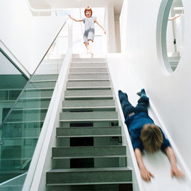 Michaelis Boyd Associates - Oxford Gardens - Staircase Slide