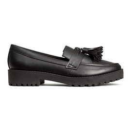 H&M - black loafer