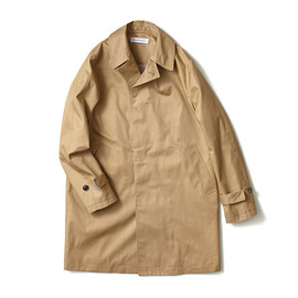 HEAD PORTER PLUS - BALMACAAN COAT BEIGE