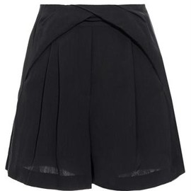 3.1 Phillip Lim - Navy Wool blend shorts