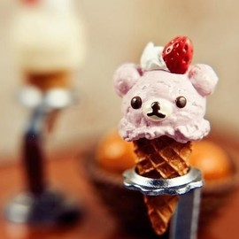 Pink Bear Ice Cream
