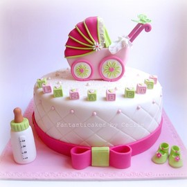 party! - baby shower cake