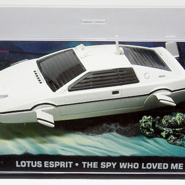 UH Universal Hobbies/GE Fabbri - The James Bond Car Collection #03 Lotus Esprit from The Spy Who Loved Me