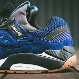 Saucony - Grid 9000 - Blue/Charcoal/Gum