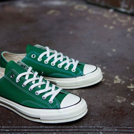 Converse - First String 1970s Chuck Taylor OX Amazon Green