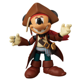 MEDICOM TOY - MAF MICKEY MOUSE (JACK SPARROW Ver.)