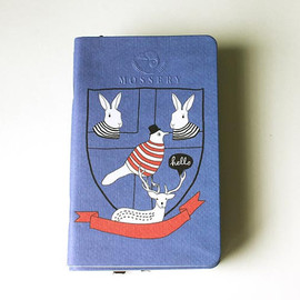 Mossery - Back To School Pocket Notebook Handmade By Mossery