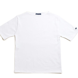 SAINT JAMES - Ouessant Short Sleeve Shirts-Neige