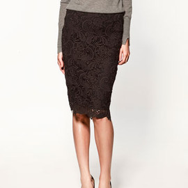 ZARA - race skirt