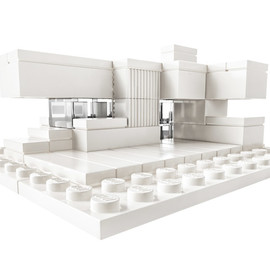 LEGO - Lego targets architects with monochrome building set