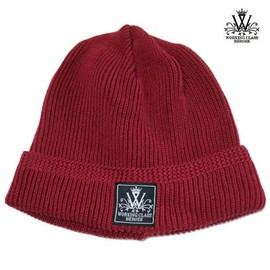 WORKING CLASS HEROES - COTTON KNIT WATCH CAP (BURGUNDY)