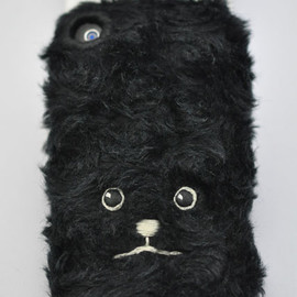 KEORA KEORA - toy poodle iphone cove(Black))