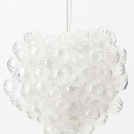 Anthropologie - Bubbling Glass Chandelier