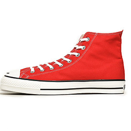 CONVERSE - Canvas All Star J Hi-Red