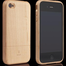 Miniot - iWood for iPhone 4/4S Maple(メイプル)
