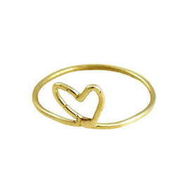 AREAWARE - 14k Gold Heart Ring