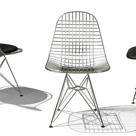 HERMAN MILLER - Eames Wire Chairs
