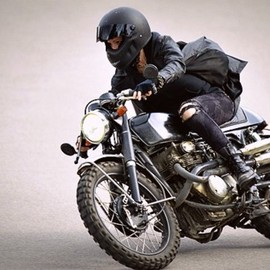 HONDA, GLORY MOTOR WORKS - The Girl With The Dragon Tattoo Ver. CB350
