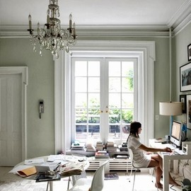 home-working spaceChelsea Townhouse in London, England