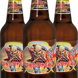 Iron Maiden, Robinsons Brewery - TROOPER Premium British Beer