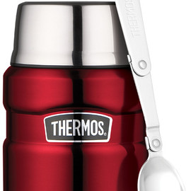 Thermos - stainless king cranberry food jar