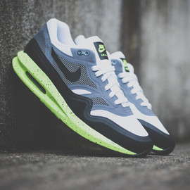 Nike - Nike Air Max Lunar1 Black/Grey/Volt
