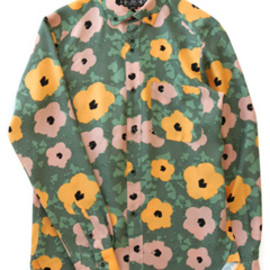 bal - Flower BD Shirt (grey)