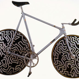 Cinelli - Keith Haring × Cinelli Laser 1987