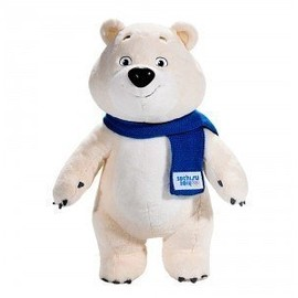 Sochi Olympics - Limited edition of Sochi 2014 mascots