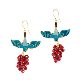 Marc Alary - Marc Alary™ for J.Crew birdberry earrings